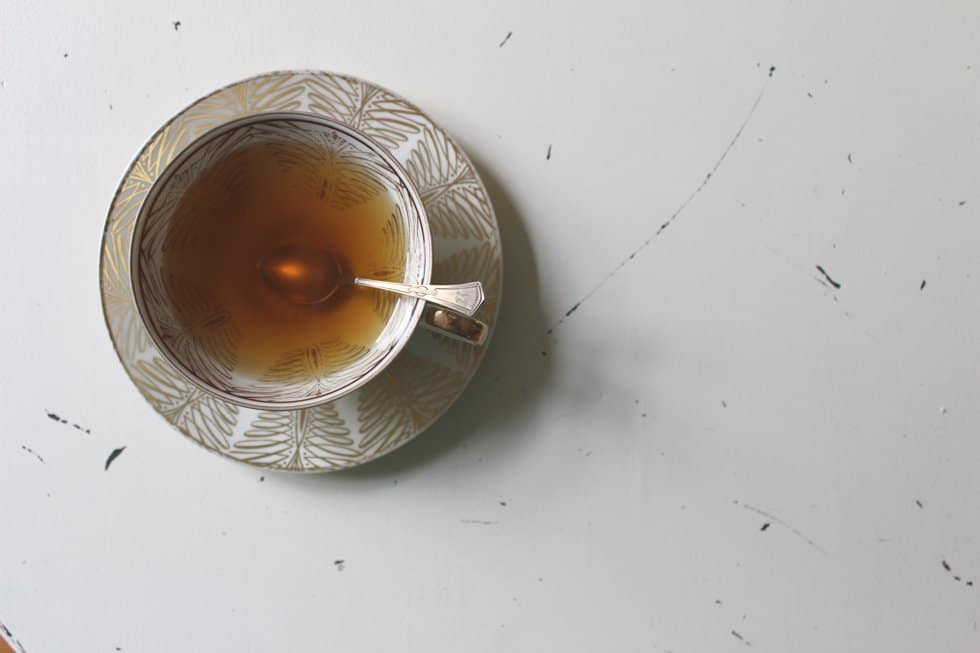 Tasse mit Schwangerschaftstee nach Stadelmann