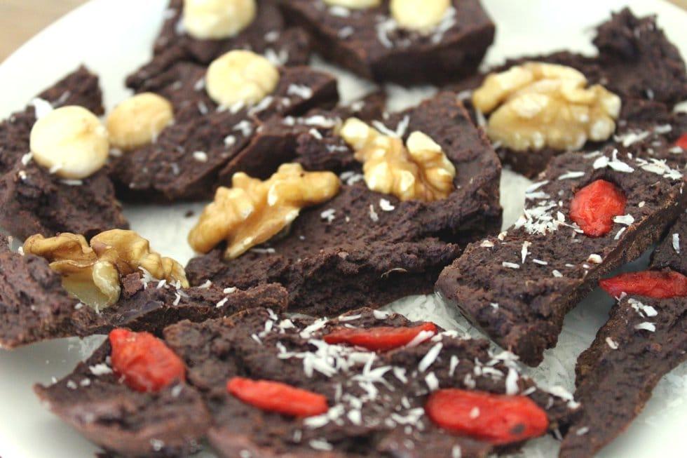 Rohkost Schokolade ohne Zucker