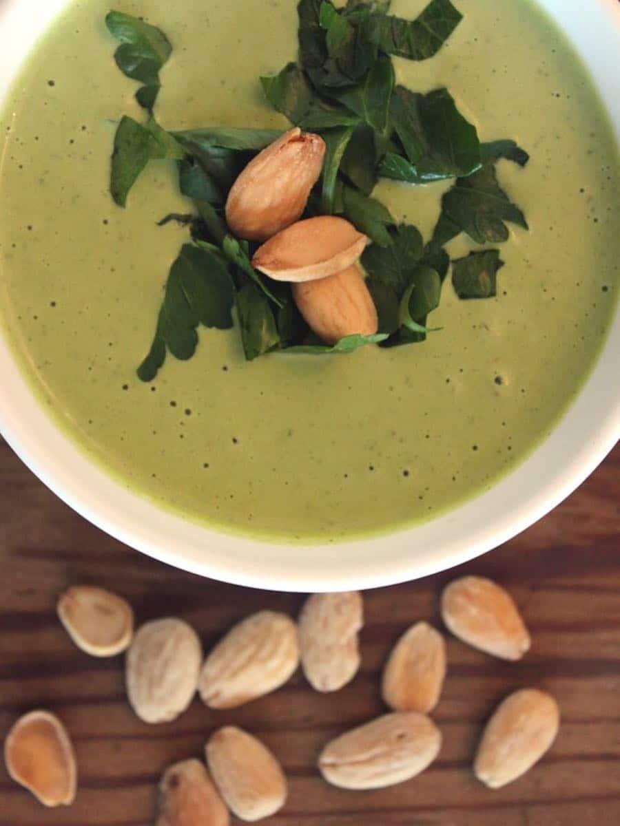 Veganes Mandel-Allioli clean eating