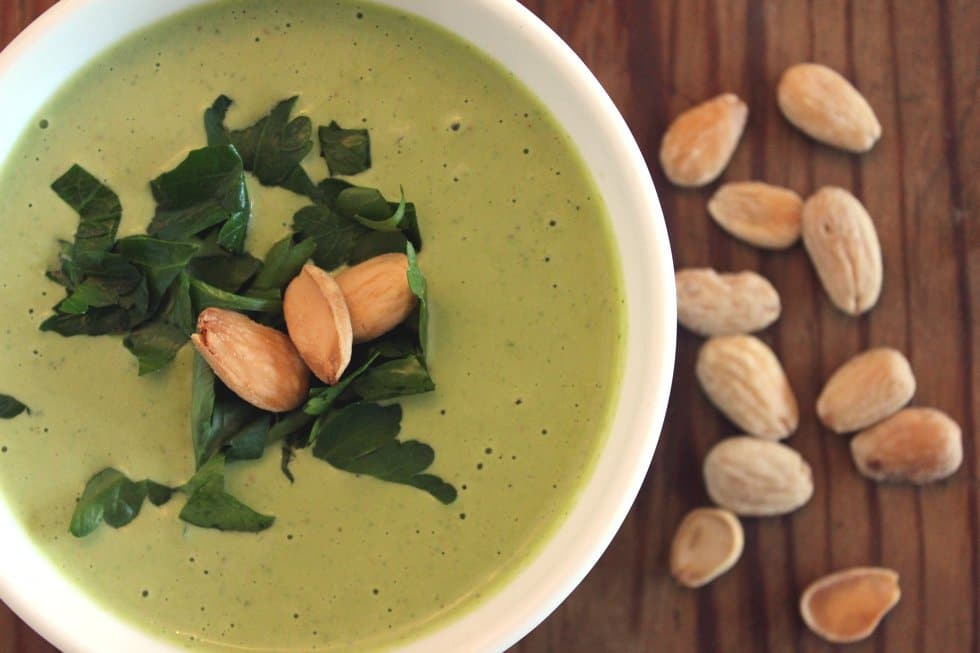 Veganes Mandel-Allioli gesunde ernaehrung