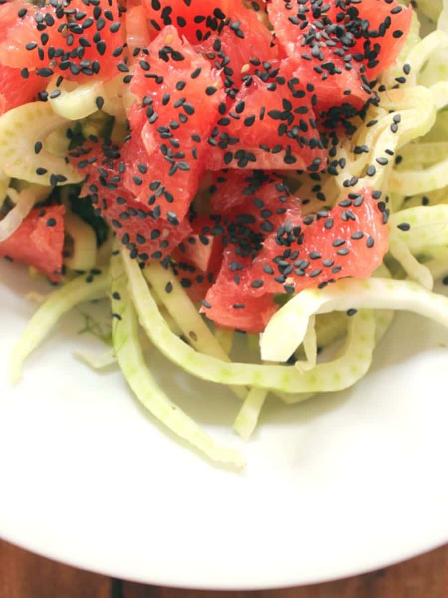 Fenchel-Grapefruit-Salat clean eating