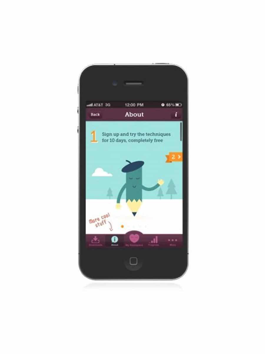 Headspace App vorschau
