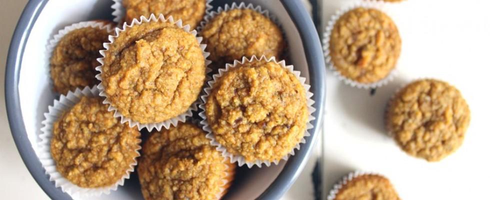 Glutenfreie Mini-Muffins mit Gemüse