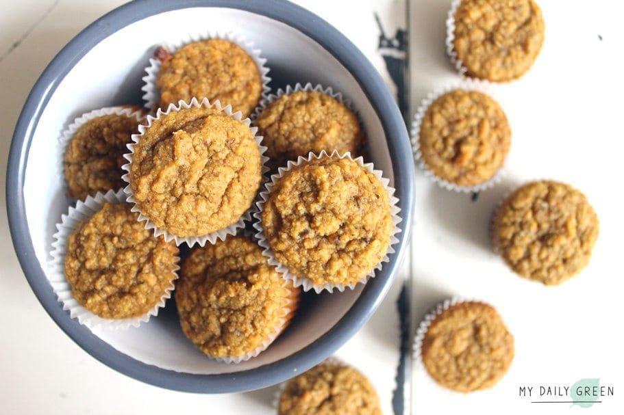 Glutenfreie Gemuese Muffins ohne Zucker
