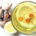 Immunsystem stärken mit Ingwer-Kurkuma-Zitronen-Tee
