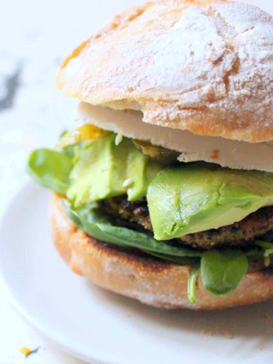 Gesunde vegane Linsenburger Rezept zum selbermachen
