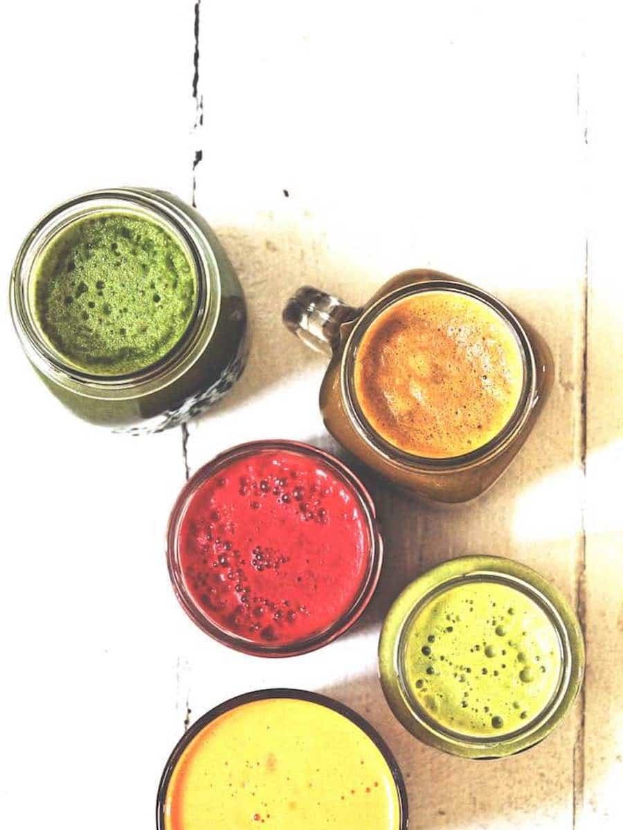 Gruener Saft entgiften detox juice