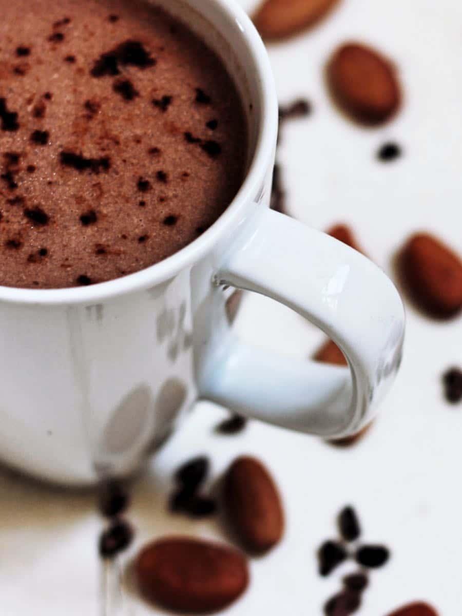 Gesunder Kokos Kakao ohne Zucker Vorschau