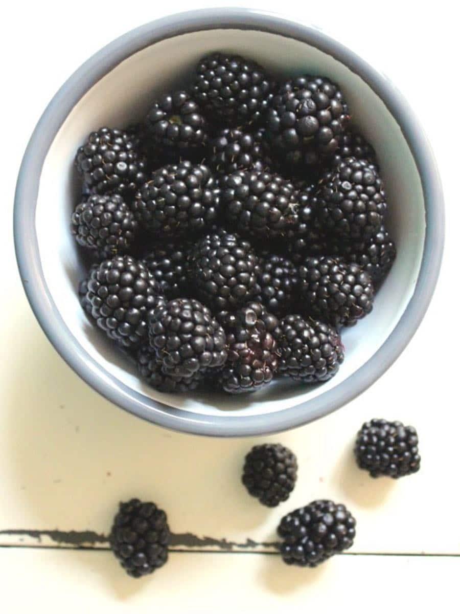 Brombeeren - Clean Eating und gesunde Vorsaetze